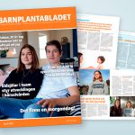 Barnplantabladet, april 2020. Grafisk produktion: Xtrovert Media, reklambyrå i Göteborg.