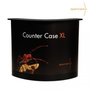 CounterCase XL med tryckt budskap.