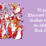 God Jul önskar Xtrovert Media!