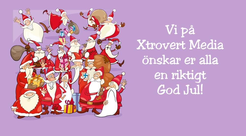 God Jul önskar Xtrovert Media!