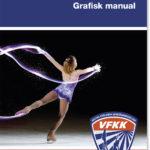 Grafisk manual till VFKK (Västra Frölunda Konståkningsklubb) gjord av Xtrovert Media 2015.