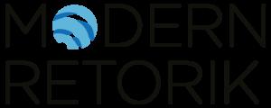 En version av logotyperna till Modern Retorik, Kronkvist Kommunikation AB.