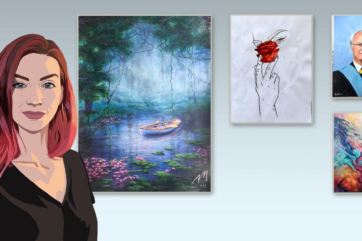 Anna Mases - konstnär och strategisk kommunikatör, Xtrovert Media, reklambyrå i Göteborg
